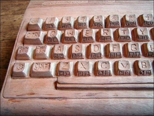 Early prototype keyboard